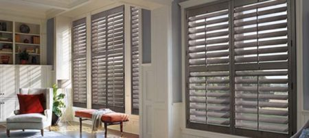 Hunter Douglas Heritance® Hardwood Shutters