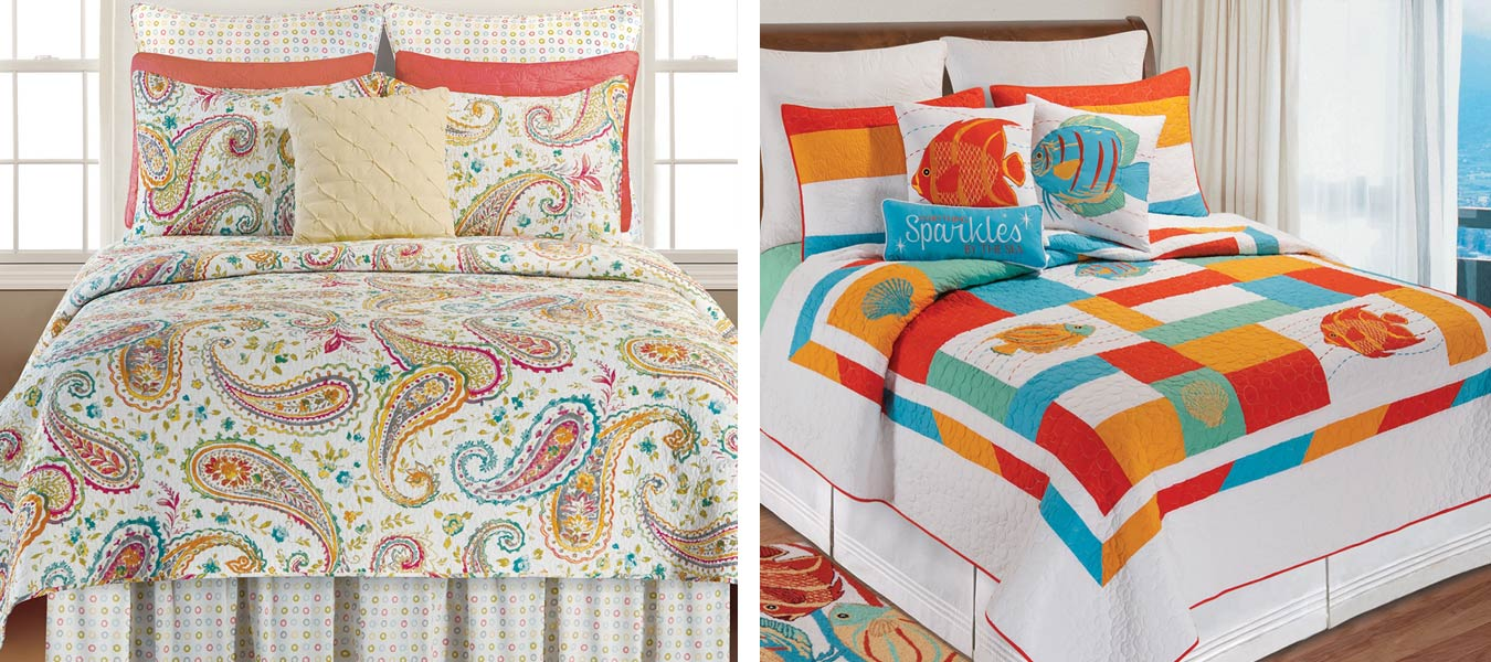 Quilts, Bedding, & Throw Pillows