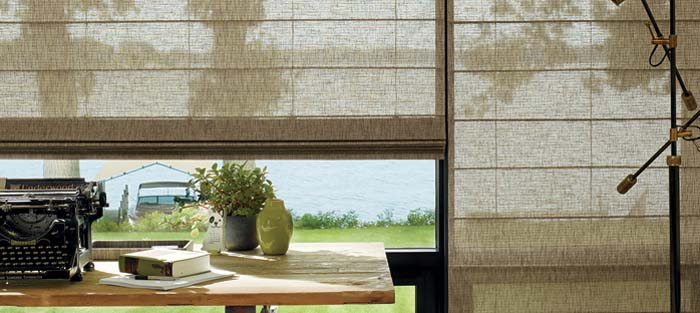 Hunter Douglas ALUSTRA® COLLECTION of WOVEN TEXTURES®