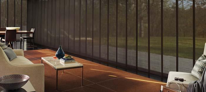 Hunter Douglas SKYLINE®GLIDING WINDOW PANELS
