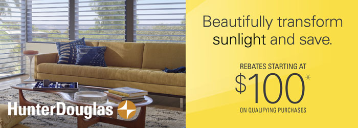 Hunter Douglas Promo
